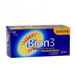 Bion 3 junior goût framboise 60 comprimés