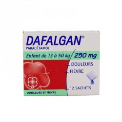 Dafalgan poudre effervescente 250 mg