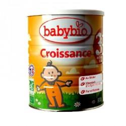 Babybio lait croissance bio 900g