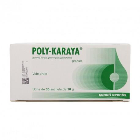 POLYKARAYA GLÉ B/30SACH/10G GROSSISTE