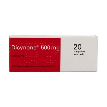 DICYNONE 500MG CPR B/20