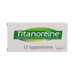 Titanoreine - 12 suppositoires