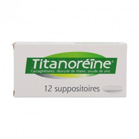 Titanoreine - 12 suppositoires