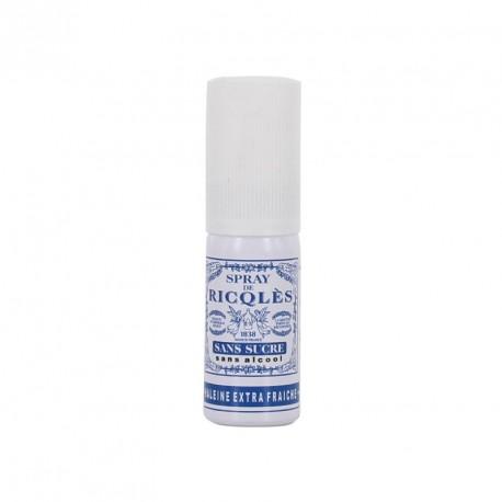 Ricqlès spray buccal menthe sans alcool et sans sucre 15ml