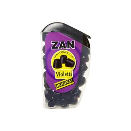 Haribo zan confiserie réglisse aromatisé violette 18g