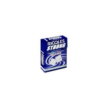 Ricqlès strong chewing-gum sans sucre 24g