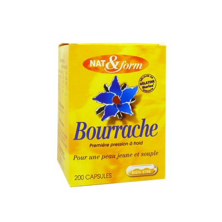Nat & Form Bourrache 120 capsules