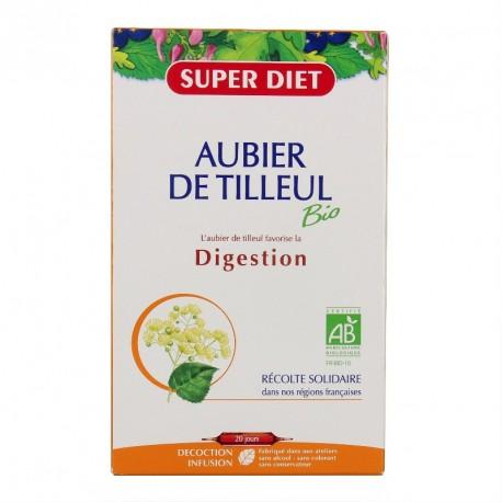 Super Diet Aubier de Tilleul Bio Pur Jus 20 ampoules