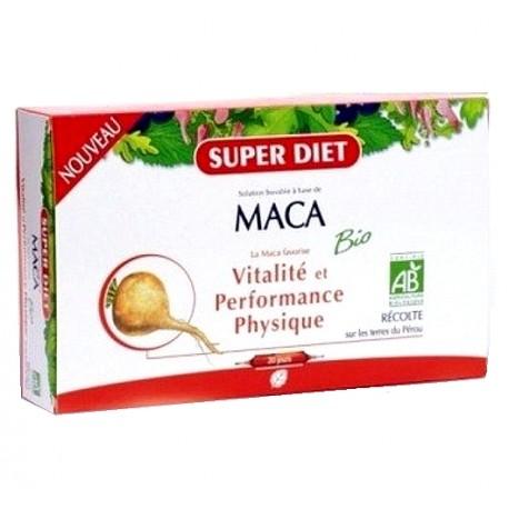 Super Diet Maca Bio Pur Jus 20 ampoules