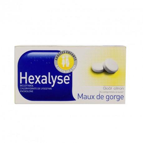 Hexalyse comprimés à sucer
