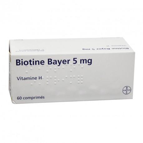 BIOTINE 5MG CPR B/60