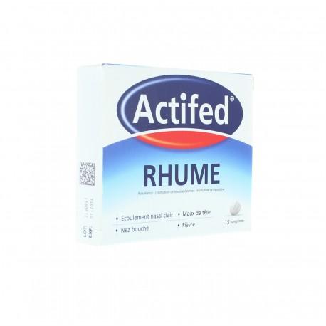 Actifed Rhume 15 comrpimés