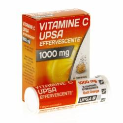 Vitamine C UPSA 20 comprimés effervescents 1000mg