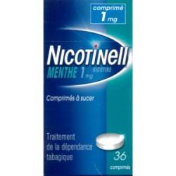 Nicotinell menthe 1mg 36 comprimés à sucer