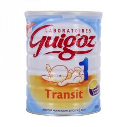 Guigoz lait transit 1er âge 800g