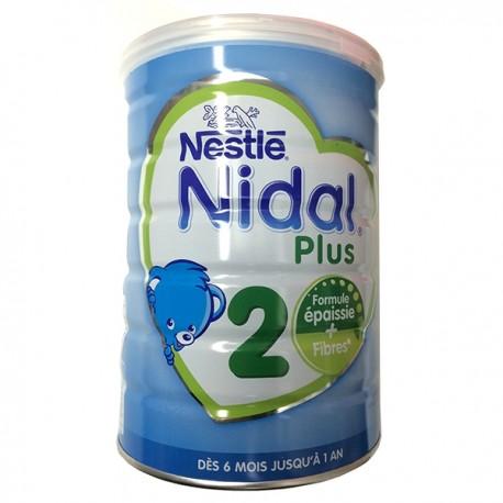 Nestlé Nidal Plus 2ème Age Boite de 800g