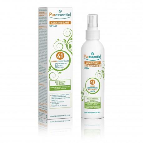 Puressentiel spray assainissant aux 41 huiles essentielles 200ml