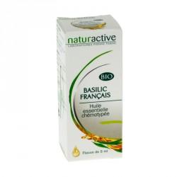 Naturactive huile essentielle bio basilic français 5ml