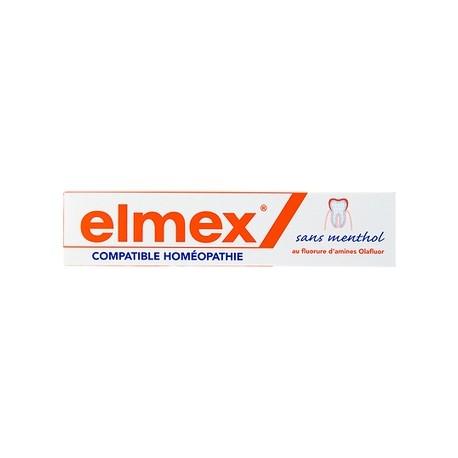 Elmex dentifrice compatible homéopathie 75ml