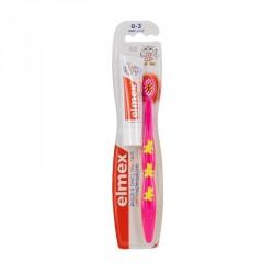 Elmex brosse à dents souple enfants 3-6 ans dauphins