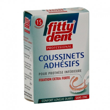 FITTYDENT CONFORT 15 COUSSINETS