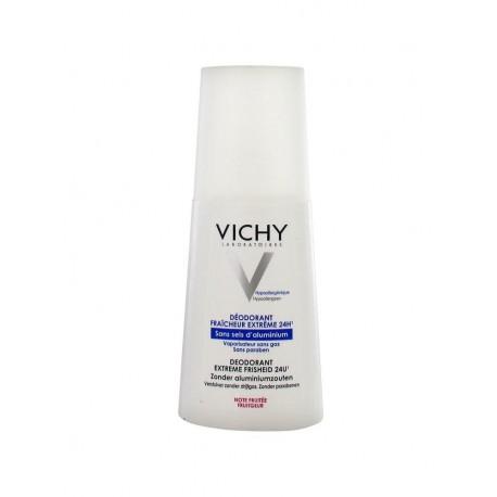 Vichy Déodorant Fraîcheur Extrême 24H Note Fruitée 100 ml