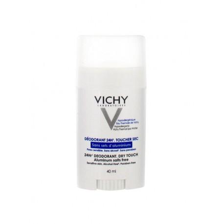 Vichy Déodorant 24H Toucher Sec Peau Sensible Stick 40 ml