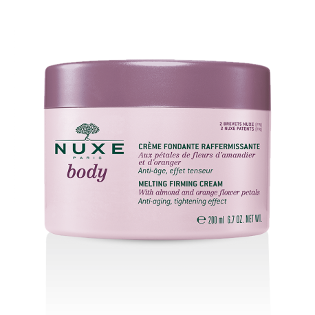 Nuxe body crème fondante raffermissante 200ml