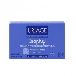 Uriage isophy sérum physiologique 18 unidoses