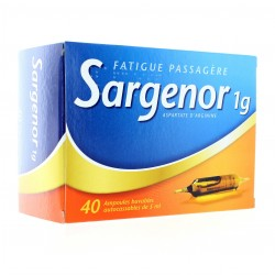 Sargenor 1g 40 ampoules buvables de 5ml