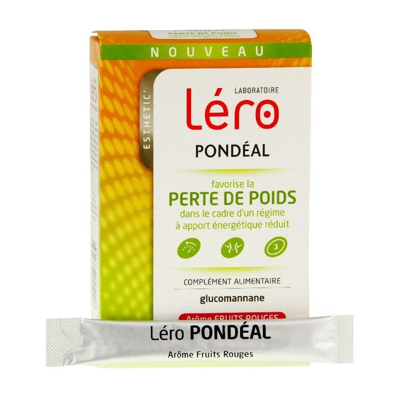 Léro pondéal fruits rouges 30 sticks - Agnes Praden