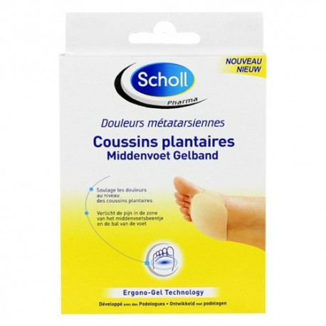 Scholl Coussins Plantaires - Taille : 39-42