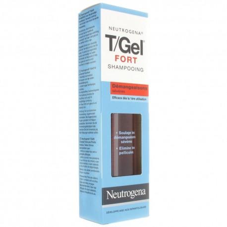 Neutrogena T/Gel Fort Shampoing Démangeaisons Sévères 250 ml