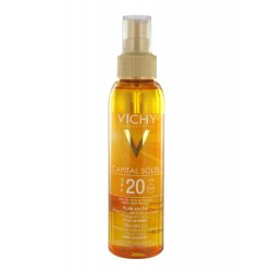 Vichy huile solaire spf 20 125ml