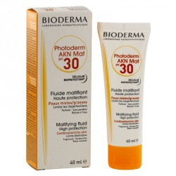 Bioderma photoderm AKN fluide matifiant spf 30 40ml