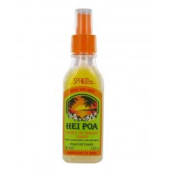 Hei Poa Huile de Monoï Tahiti Parfum Tiaré SPF 6 spray de 100ml