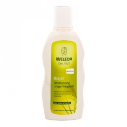 Weleda capillaire shampooing usage fréquent Millet 190 ml