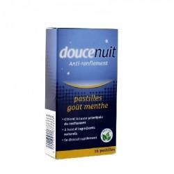 Douce nuit anti ronflement double action 16 pastilles