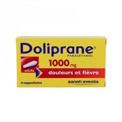 DOLIPRANE 1000 mg suppos adultes