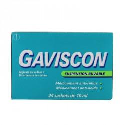 Gaviscon Suspension buvable boîte de 24 sachets
