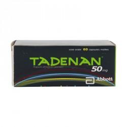 Tadenan 50 mg Hypertrophie bénigne de la prostate 60 capsules