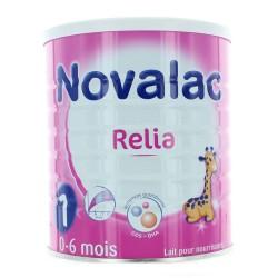 Novalac relia lait 1er âge 0 à 6 mois 800g