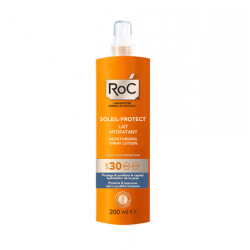 Roc lait hydratant en spray spf 30 200ml