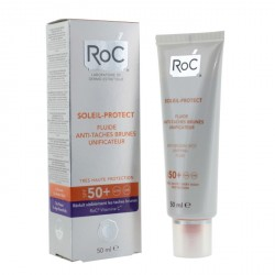 Roc fluide anti-tâches brunes unificateur spf 50 + 50ml