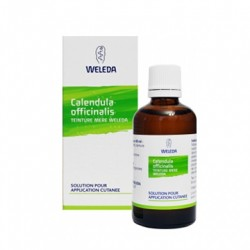 Calendula officinalis teinture mere weleda solution pour application cutanee