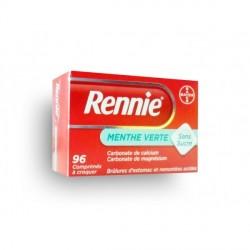 Rennie menthe sans sucre 96 comprimés