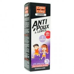 Cinq sur cinq lotion anti poux & pentes 100 ml