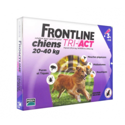 Mérial Frontline Tri-Act Chien 20 à 40Kg 3x4ml