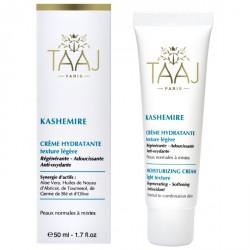 TAAJ Crème Hydratante Texture légère Kashemire 50ml