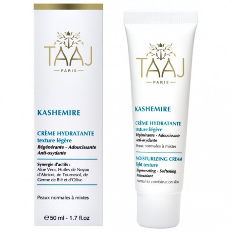 Taaj Kashemire Crème Hydratante Texture légère 50 ml